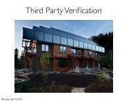 ACAT -- Third Party Verification