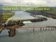 Physical Modeling The Dalles Dam Spillway Operations to Improve ...