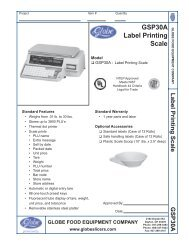 GSP30A Label Printing Scale