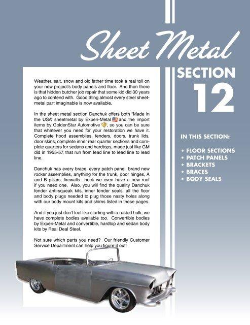 Die Stamped Steel Weld On Quarter Panel Repair Wraps into Door Jamb Drivers Side