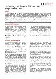 Jaarverslag 2011 van Regio Midden-Oost