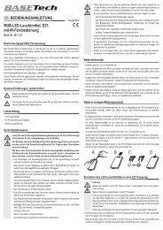 Rgb-Led-Leuchtmittel, E27 - Voelkner