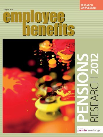 Employee Benefits/Premier pensions and workplace savings ...