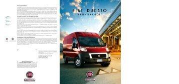 Fiat Ducato Prospekt - Transporter + Service