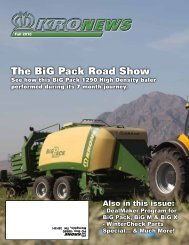 The BiG Pack Road Show - Krone North America