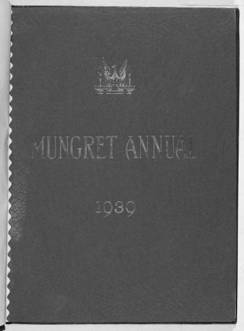 Download the Mungret College Annual 1939 - Mungret College Past ...
