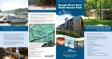 rough river Dam state resort park - Kentucky State Parks