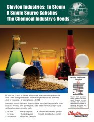 434_Clayton US_Chem Sell Sheet - Clayton Industries