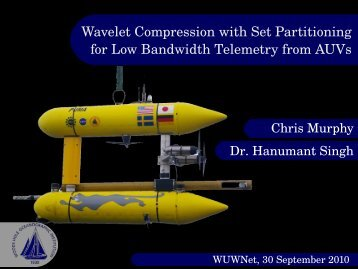 Wavelet Compression with Set Partitioning for Low Bandwidth ...