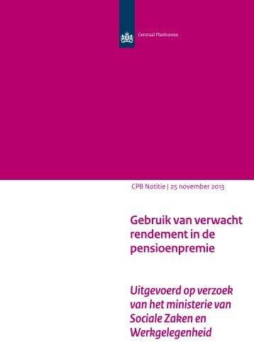 cpb-notitie-25nov2013-gebruik-van-verwacht-rendement-de-pensioenpremie