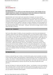 Die Variante 2.0 Seite 1 von 2 Druckansicht: Die Variante 2.0 25.10 ...