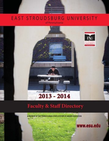 Phone Directory - East Stroudsburg University
