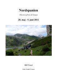 Rapport Nordspanien 2011.pdf - DOF Travel