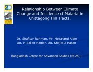 Relationship Between Climate Change and Incidence of Malaria in ...