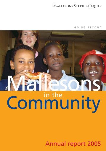 MIC annual report (Jan 05) #3426_v4.qxd - Mallesons