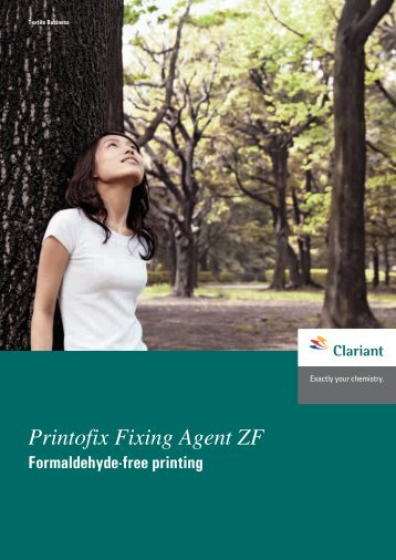 Printofix Fixing Agent ZF - Clariant