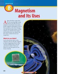 Chapter 8: Magnetism and Its Uses - Wylie Jr. High School