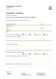 schule&kultur – Fragebogen