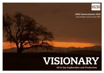 DNO International ASA Oil & Gas Exploration and Production