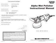AWP manual.pmd - His Glassworks