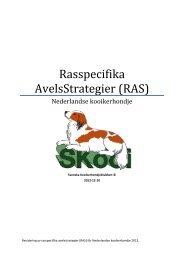 Rasspecifika AvelsStrategier (RAS) - Svenska Kennelklubben