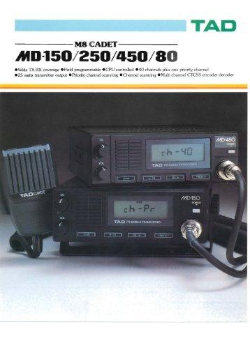 TAD ------M8 CADET----- AtD-150/250/450/80