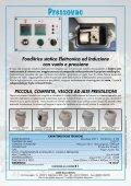 Fonditrice statica Elettronica ad Induzione con vuoto e ... - Defradental - Page 2
