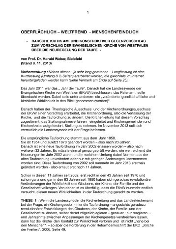 Stellungnahme Taufe Weber Langfassung 2013-11