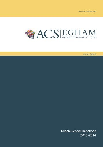 Egham pdf - ACS International Schools