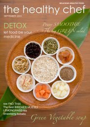 september newsletter the healthy chef 2010 - griffin design studio
