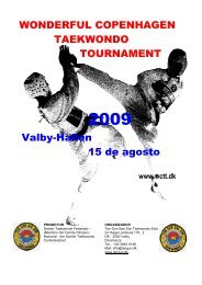 WONDERFUL COPENHAGEN TAEKWONDO TOURNAMENT Valby ...
