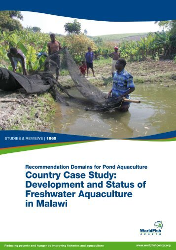 Country Case Study: Development and Status of Freshwater ...