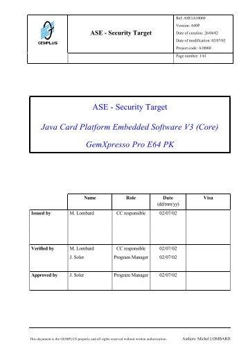 ASE - Bundesamt für Sicherheit in der Informationstechnik