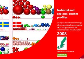 National and regional cluster profiles 2008. Companies in ... - Vinnova