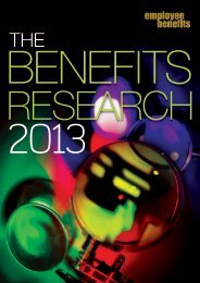 The Benefits Research 2013 - Employee Benefits