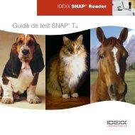 IDEXX SNAP Reader: Guide de test SNAP T4