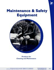Maintenance & Safety Equipment - American Pool Supply!