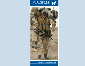 Warrior Fact Sheet PDF - Air Force