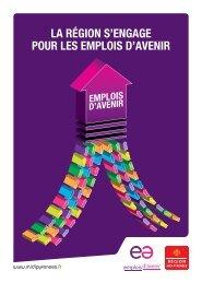 Plaquette Emploi d'Avenir - Région Midi-Pyrénées