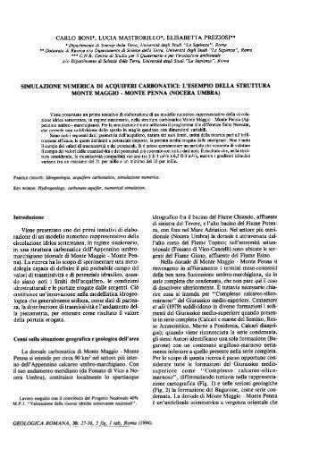 Introduzione - Idrogeologia quantitativa