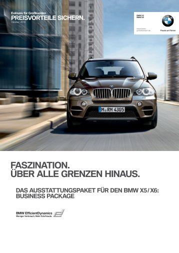 bmw x5 / x6 business package.