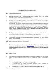 Software License Agreement - Extedo