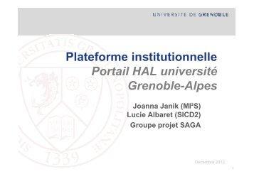 Site SAGA - Grenet.fr