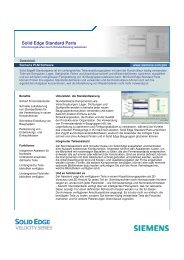 Solid Edge Standard Parts - All4edge.de