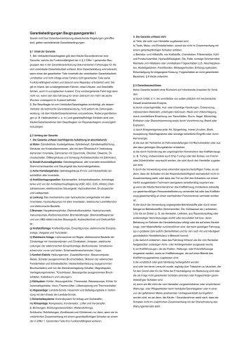 Details Baugruppengarantie - Autohaus Reisacher GmbH
