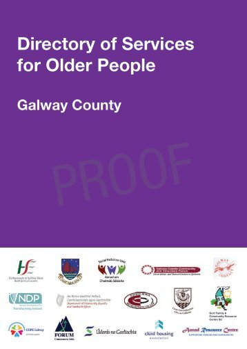Directory of Services for Older People - Galway Healthy Cities Project