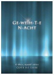 GE-weih-Ten N-Acht - Key of Life