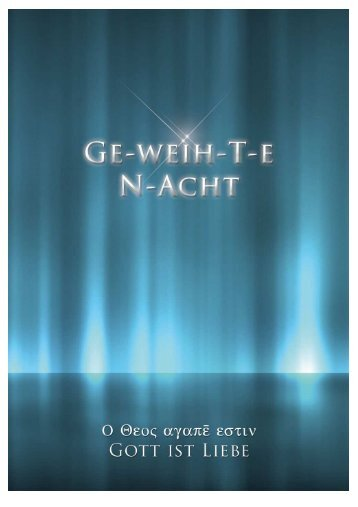 GE-weih-Ten N-Acht - Key of Life