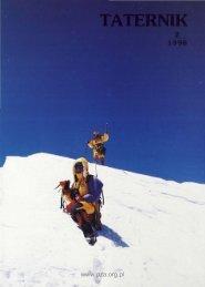 Taternik 2 1998 - Polski Związek Alpinizmu