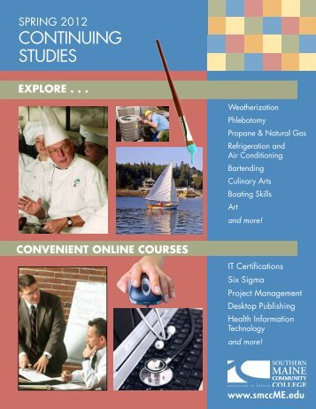 Spring 2012 Continuing Studies - Southern Maine Community College